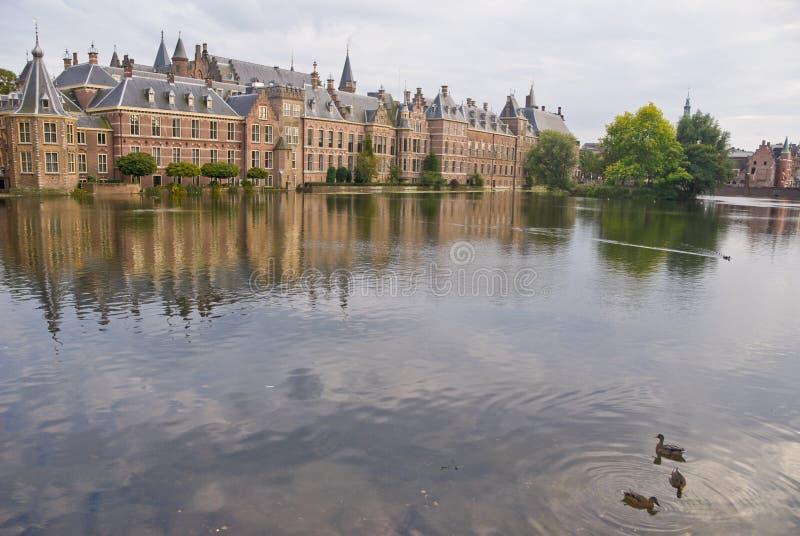 Palazzo di Binnenhof in tana Haag immagini stock libere da diritti