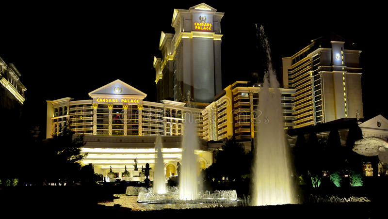 Palazzo di Caesars, Las Vegas fotografia stock