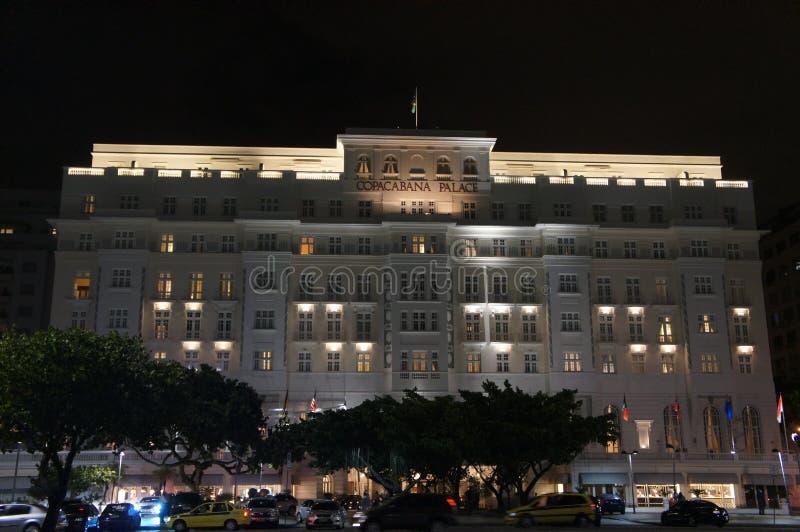Palazzo di Copacabana, Rio de Janeiro, Brasile immagine stock libera da diritti