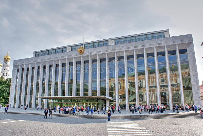 Palazzo di Cremlino dello stato fotografie stock libere da diritti