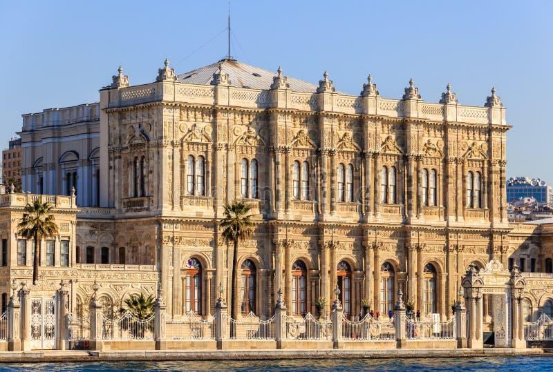 Palazzo di Dolmagahce da Marmara fotografie stock