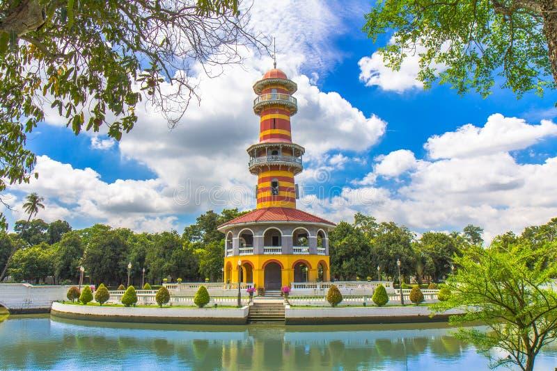 Palazzo di DOLORE di scoppio in Tailandia fotografie stock libere da diritti
