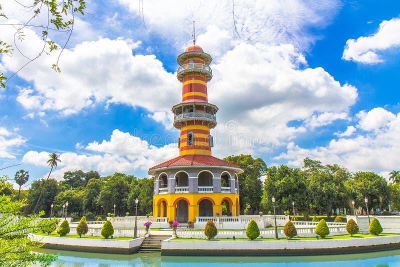 Palazzo di DOLORE di scoppio in Tailandia fotografie stock