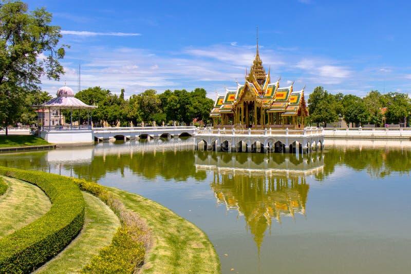 Palazzo di DOLORE di scoppio in Tailandia fotografia stock