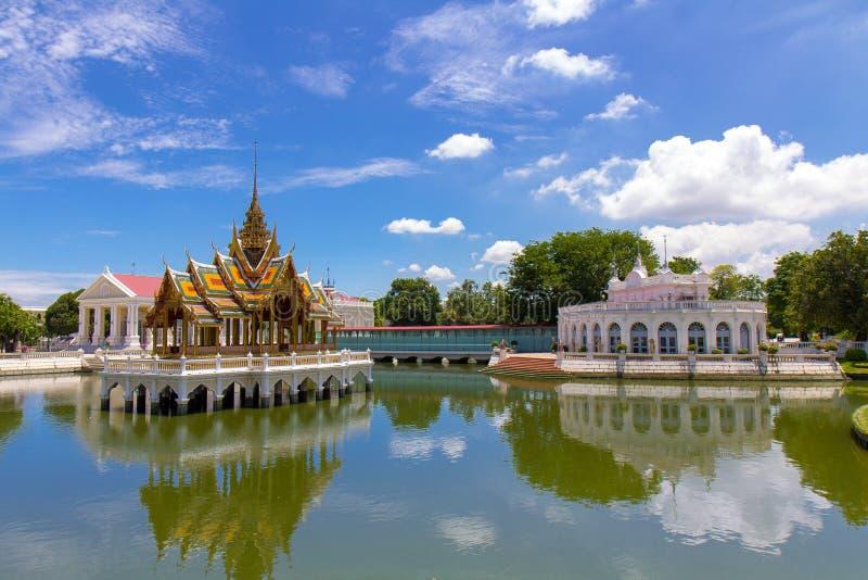 Palazzo di DOLORE di scoppio in Tailandia immagine stock libera da diritti