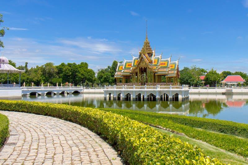 Palazzo di DOLORE di scoppio in Tailandia immagini stock libere da diritti