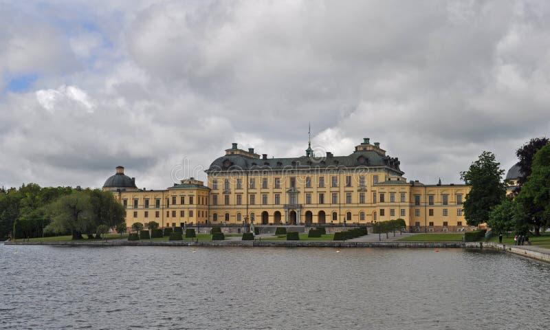 Palazzo di Drottningholm fotografie stock libere da diritti