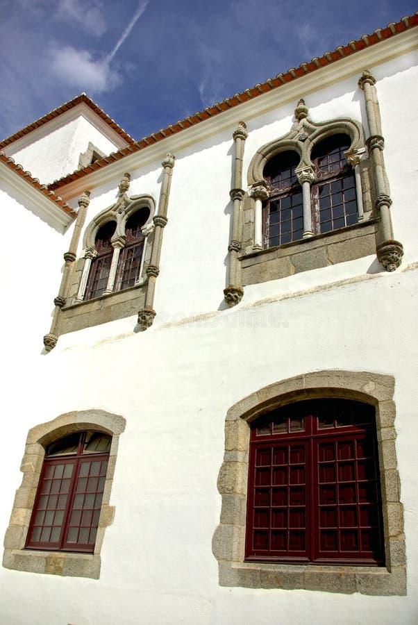 Palazzo di Evora. fotografie stock