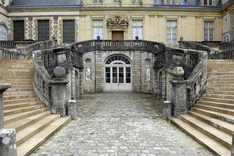Palazzo di Fontainebleau fotografie stock