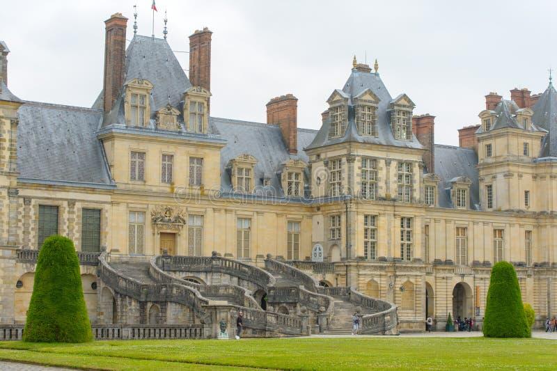 Download Palazzo Di Fontainebleau In Francia Immagine Stock - Immagine di francese, france: 56887285
