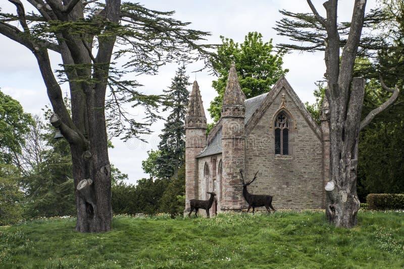 Palazzo 3 di Forest Scotland Great Britain Scone del parco del paesaggio fotografie stock