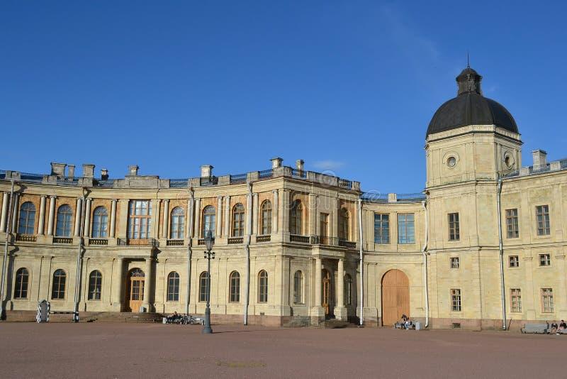Palazzo di Gatchina fotografie stock libere da diritti