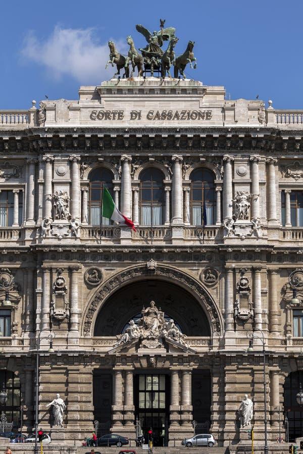 Palazzo di giustizia a Roma, Italia immagini stock libere da diritti