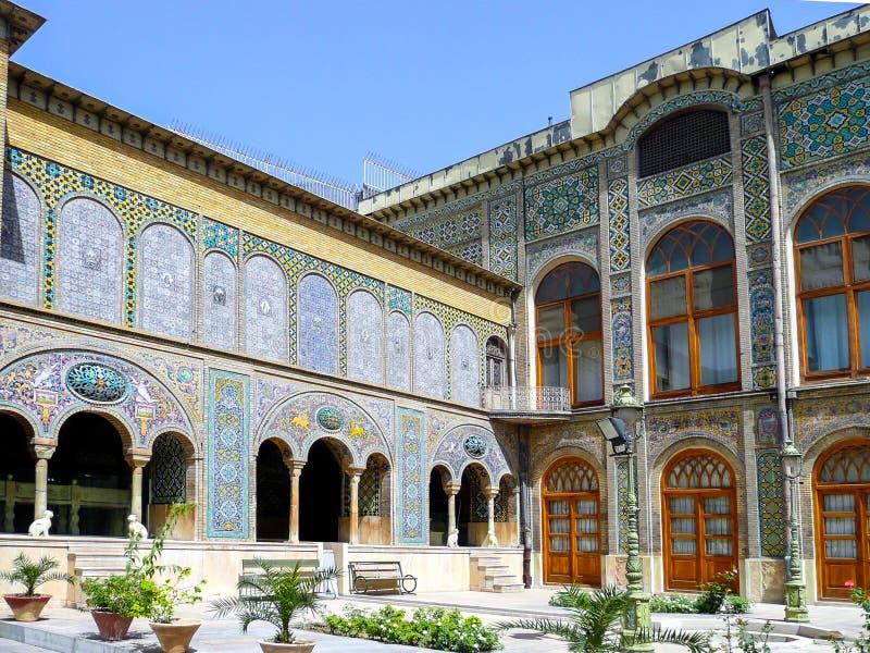 Palazzo di Golestan fotografia stock