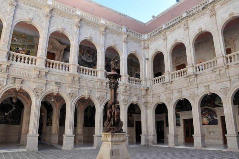 Palazzo di governo della chihuahua fotografie stock libere da diritti