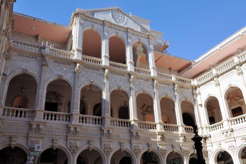 Palazzo di governo della chihuahua immagine stock libera da diritti