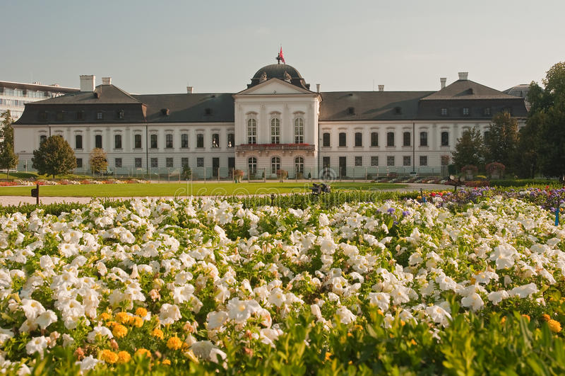 Palazzo di Grassalkovich immagini stock