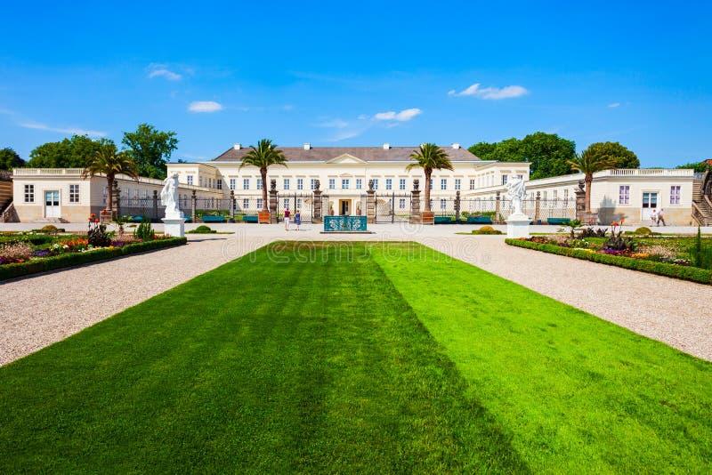 Palazzo di Herrenhausen a Hannover, Germania immagini stock libere da diritti
