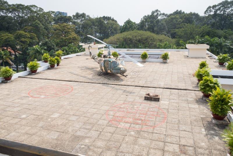 Palazzo di indipendenza del palazzo di riunificazione in Ho Chi Minh City f fotografia stock