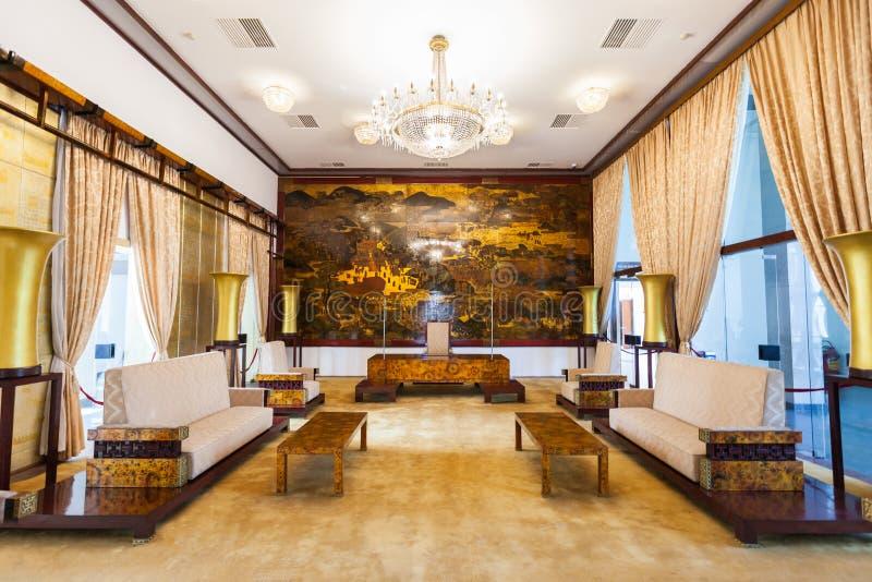Palazzo di indipendenza, Ho Chi Minh fotografia stock