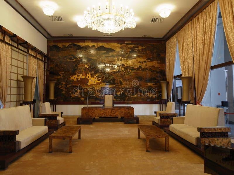 Palazzo di indipendenza a Saigon/Ho Chi Minh City immagine stock libera da diritti