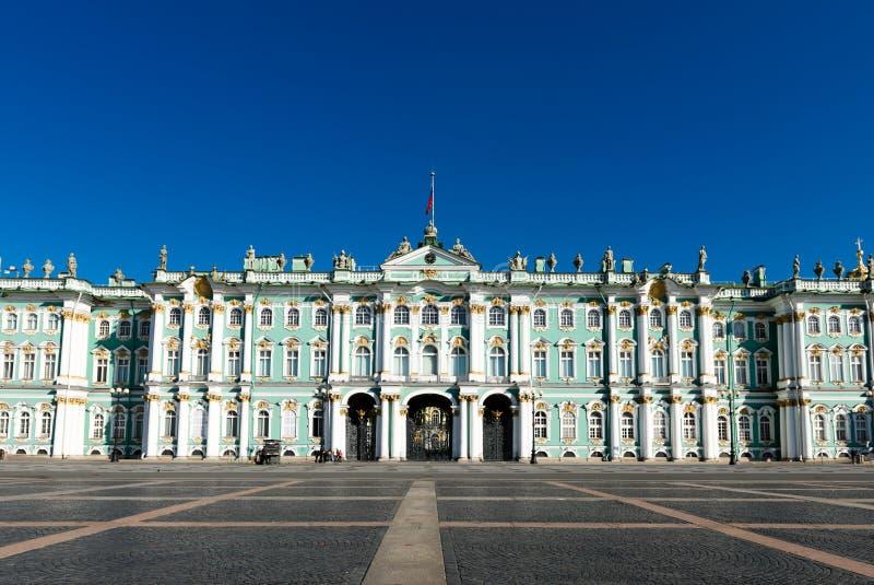 Palazzo di inverno, Museo dell'Ermitage in San Pietroburgo fotografia stock
