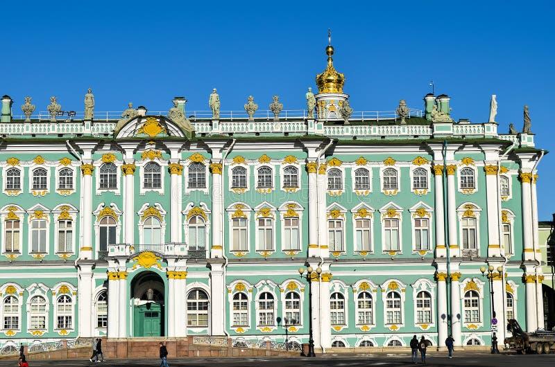 Palazzo di inverno a St Petersburg, Russia fotografia stock