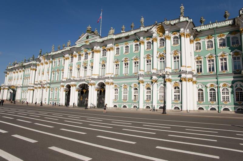 Palazzo di inverno - St Petersburg - Russia fotografia stock