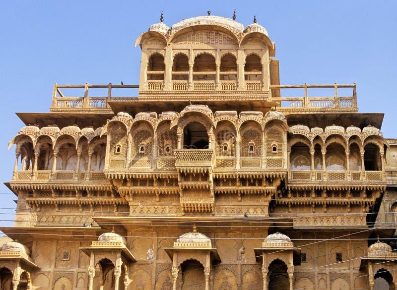 Palazzo di Jaisalmer immagine stock libera da diritti