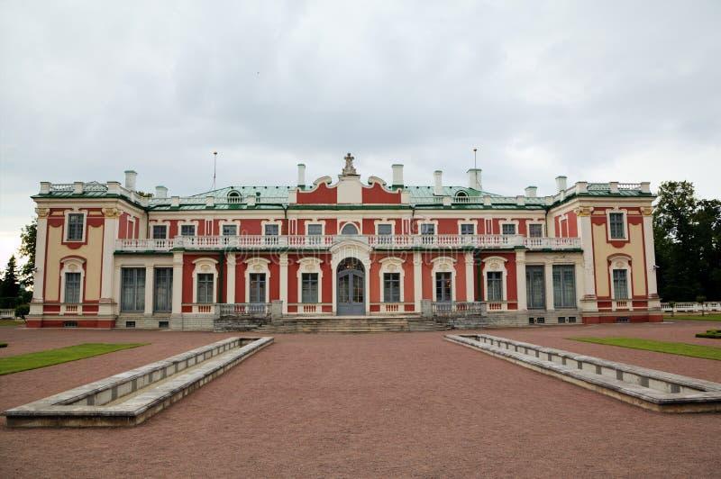Palazzo di Kadriorg. Tallinn, Estonia fotografia stock libera da diritti