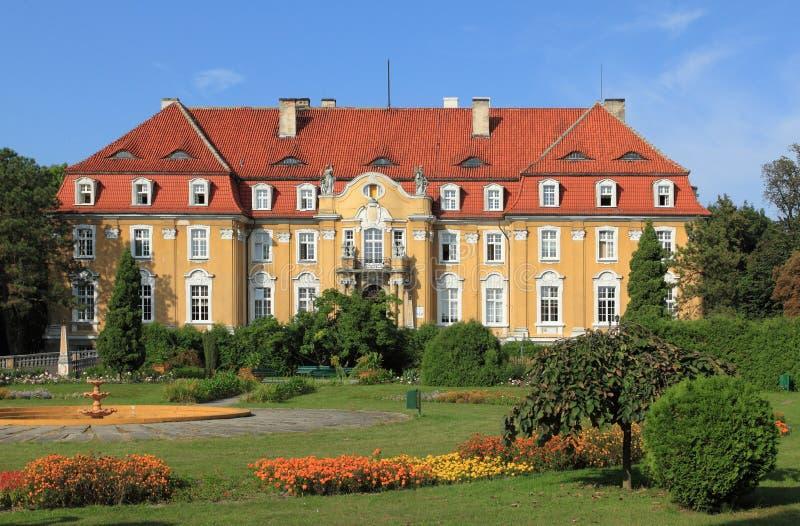 Palazzo di Kochcice in Polonia fotografia stock