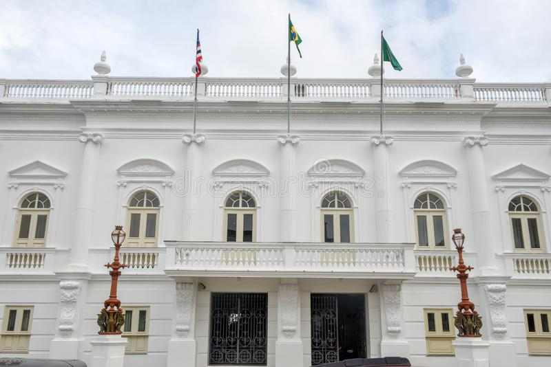 Palazzo di Leos a sao Luis nel Brasile immagine stock libera da diritti