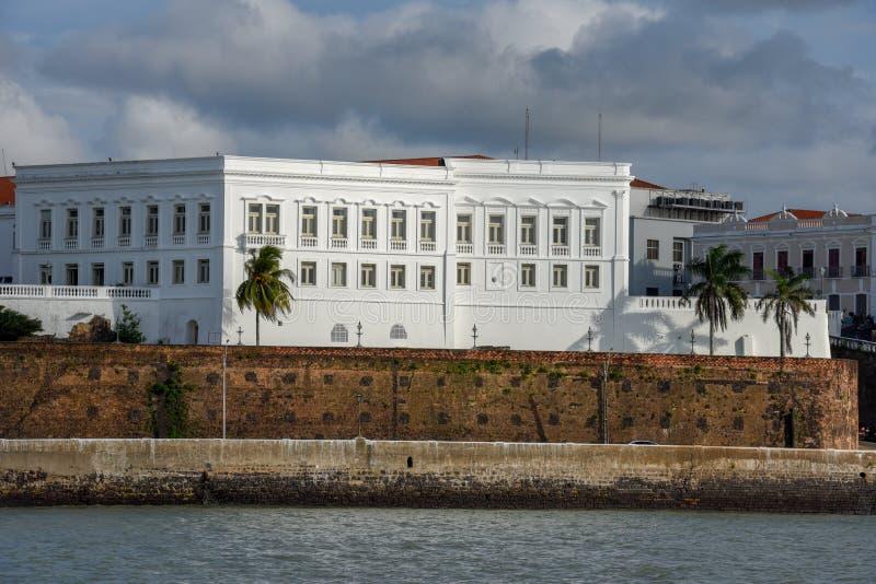Palazzo di Leos a sao Luis sul Brasile immagine stock libera da diritti
