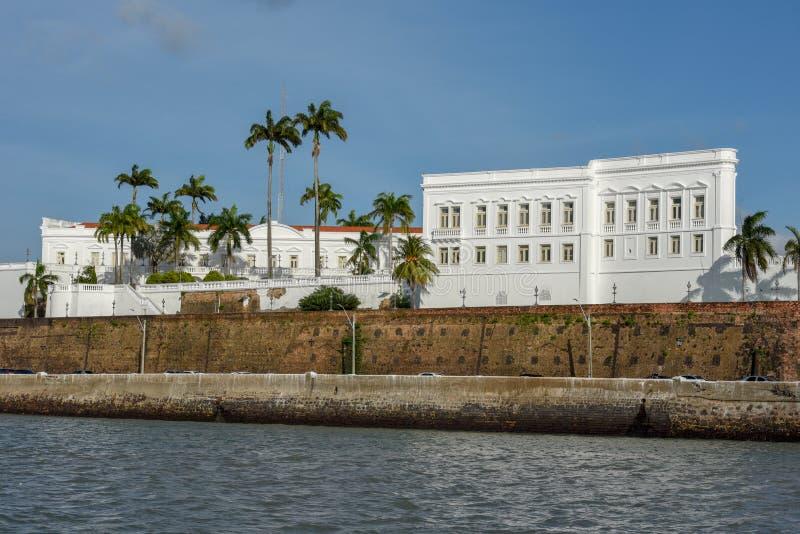 Palazzo di Leos a sao Luis sul Brasile immagini stock libere da diritti