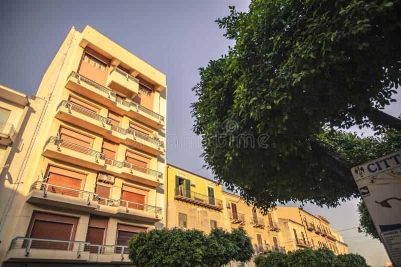 Palazzo di Licata fotografia stock libera da diritti