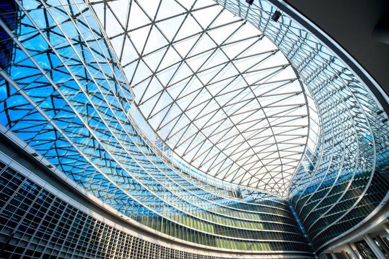 Palazzo di Lombardia a Milano fotografia stock