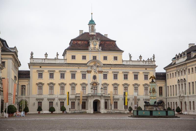Palazzo di Ludwigsburg fotografie stock libere da diritti