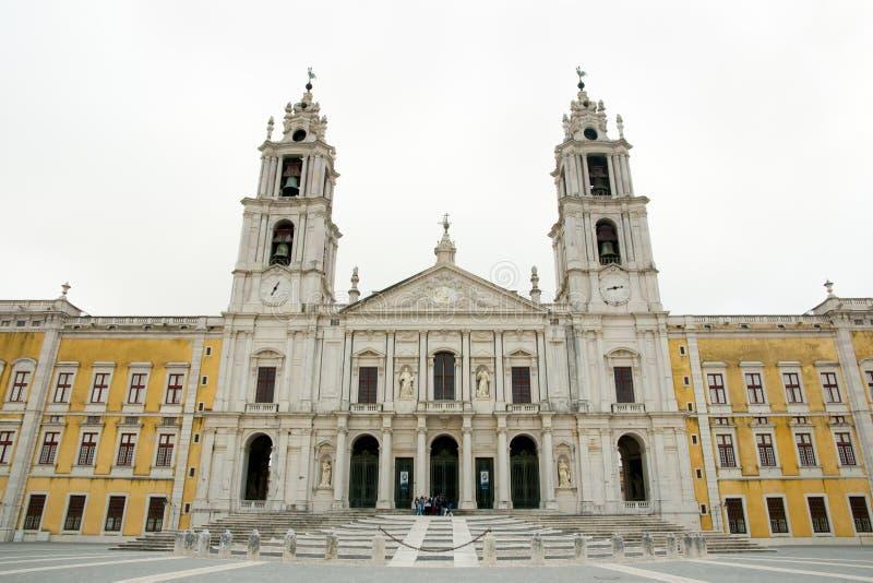 Palazzo di Mafra - il Portogallo fotografia stock