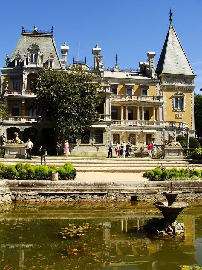 Palazzo di Masandra, penisola della Crimea immagini stock libere da diritti