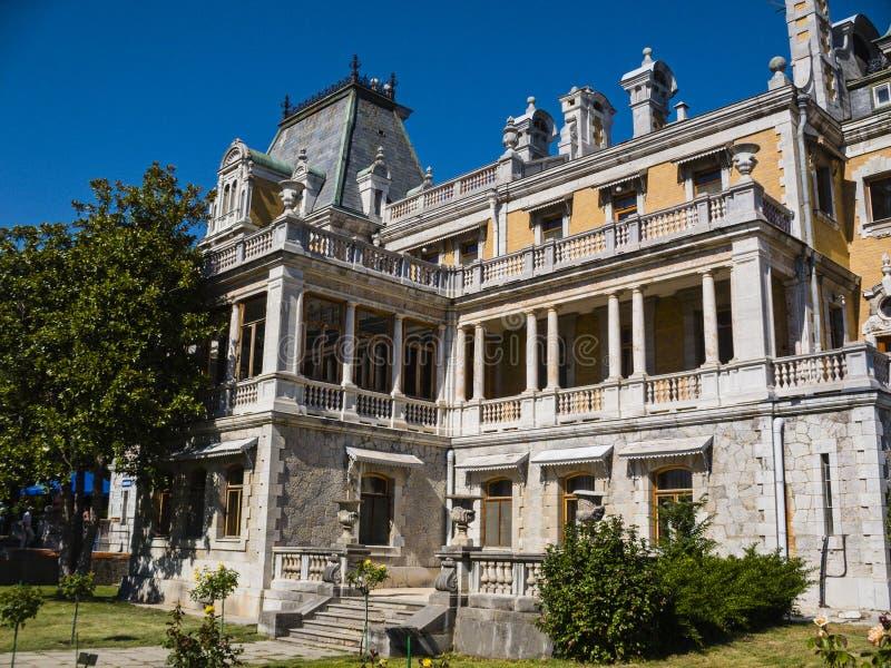 Palazzo di Massandra dell'imperatore Alexander III immagini stock libere da diritti