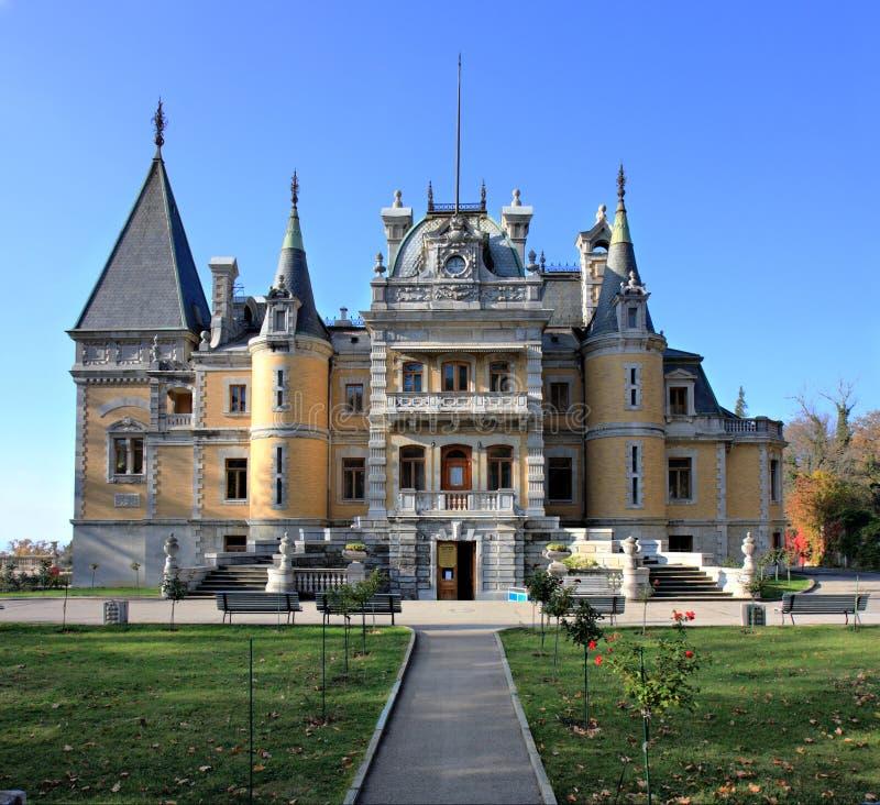 Palazzo di Massandra di Alexander III fotografia stock libera da diritti