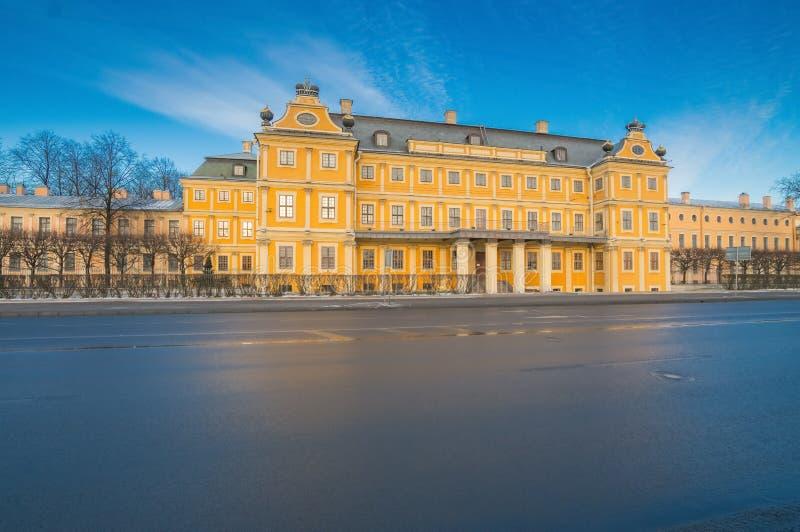 Palazzo di Menshikov fotografia stock libera da diritti