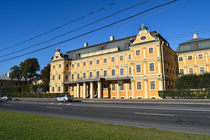 Palazzo di Menshikov a St Petersburg, Russia immagini stock