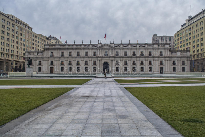 Palazzo di Moneda della La immagini stock