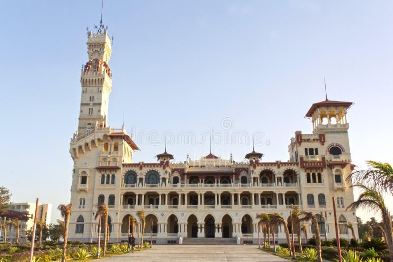 Palazzo di Montaza immagine stock libera da diritti
