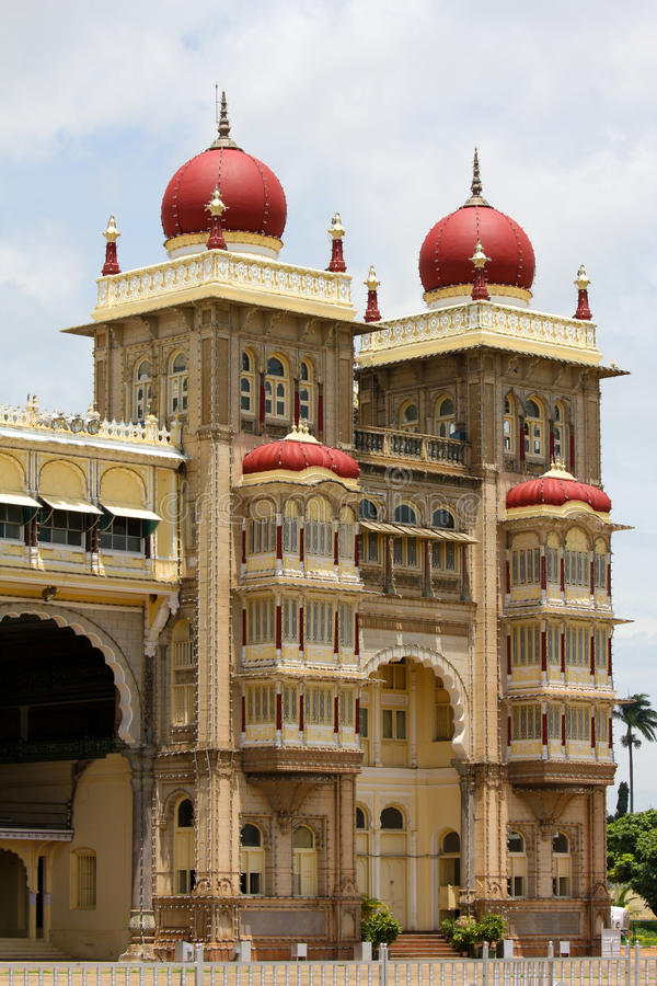 Palazzo di Mysore fotografie stock