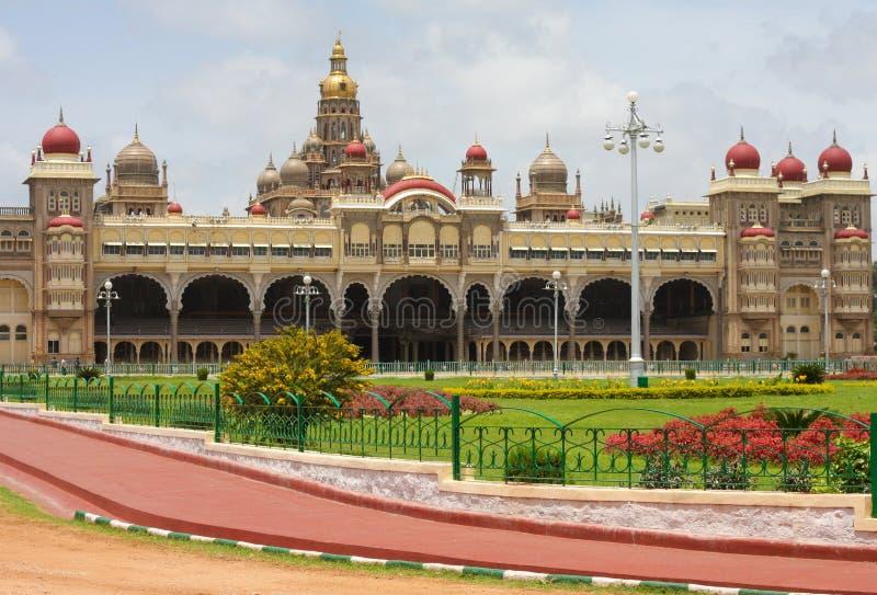 Palazzo di Mysore fotografie stock libere da diritti