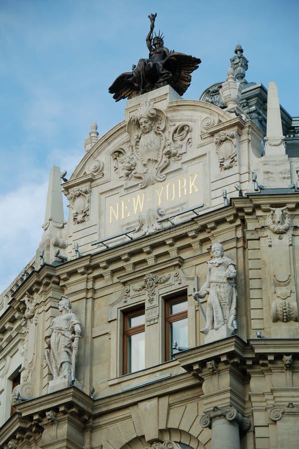 Palazzo di New York - Budapest fotografia stock libera da diritti