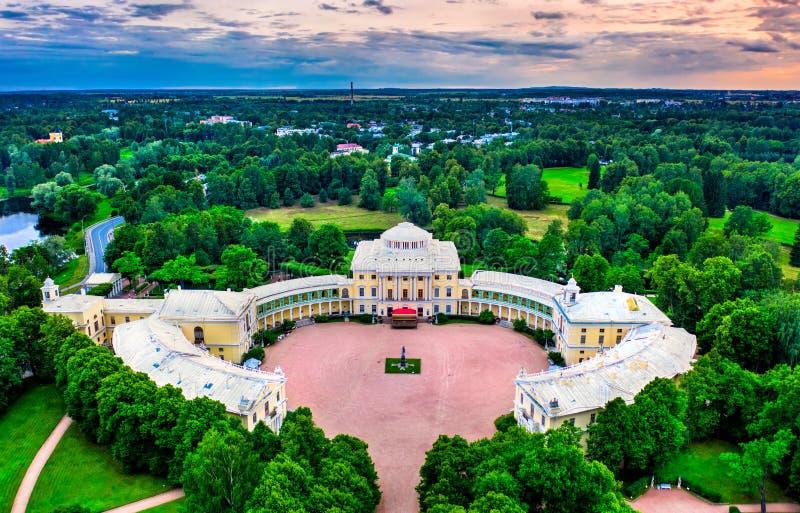 Palazzo di Pavlovsk a St Petersburg, Russia fotografie stock