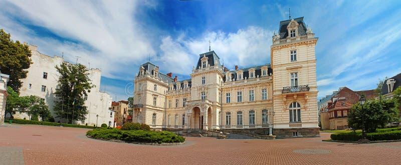 Palazzo di Potocki a Lviv, Ucraina fotografie stock libere da diritti